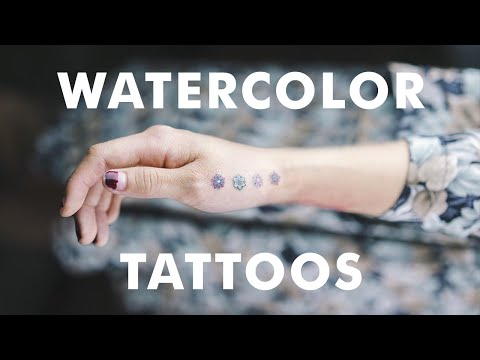 21 Incredible Watercolor Tattoos