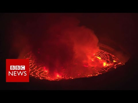 'I monitor Congo's deadliest volcano' - BBC News