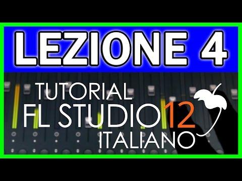 TUTORIAL FL STUDIO 12 | LEZIONE 4: PIANO ROLL - Prima Parte (ITALIANO)
