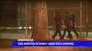 Teen Arrested In Deadly Linda Vista Shooting