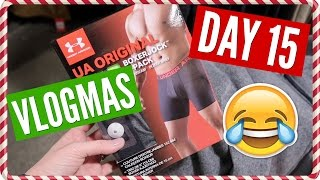 Christmas Shopping for our Husbands!! | Vlogmas Day 15