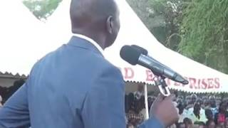 DP William ruto at baringo county