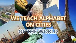 LEARN ENGLISH ALPHABET - ON CITIES OF THE WORLD takeshi82