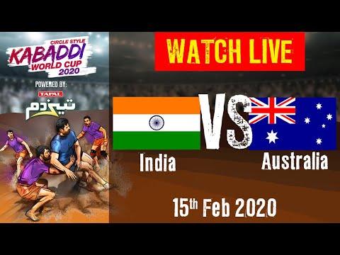 Kabaddi World Cup 2020 Live - India Vs Australia - 15 Feb - 1st Semi Final   BSports