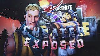 Fortnite Glitcher Exposed! Epic Games Please Fix This! @FortniteGame