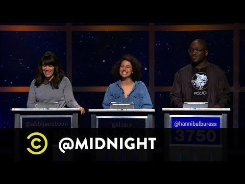 The Cast of Broad City Plays How-Tube - @midnight w/ Chris Hardwick