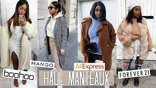 ENORME HAUL MANTEAUX | ALIEXPRESS, FOREVER 21, MANGO...