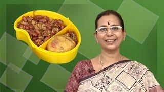 Red Soya Beans Recipe | Mallika Badrinath | Sundal | Indian Snacks Recipes | Kids Spl