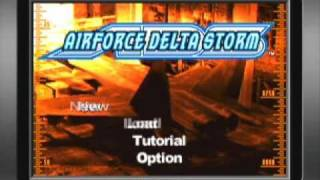 AirForce Delta Storm Game Sample - GBA