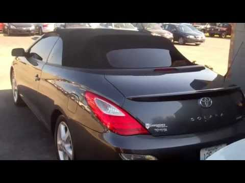 Used Toyota Camry Solara Sle For Sale Convertible