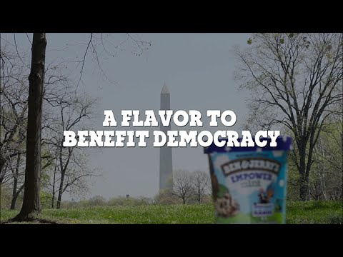 Ben & Jerry's takes their political fight to North Carolina with new ice cream flavor 'Empower Mint'