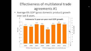 VCE Global Politics Economic Security Multilateral Trade