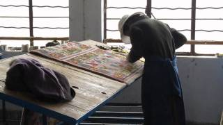 Rug factory, Shigatse