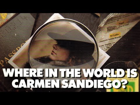 LGR - Where in the World Is Carmen Sandiego - Apple II Game Review