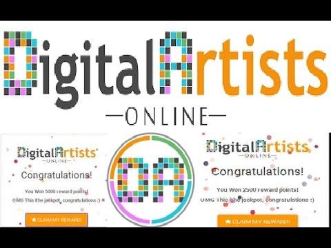 Digital Artists Online. Bitcoin Kran. 10 Dəqiqəyə 500-1000 Satoş Qazan.
