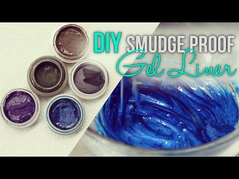 DIY Smudge Proof Gel Eye Liner - YouTube