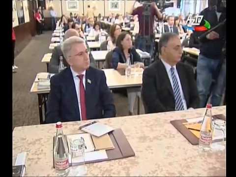 """Kapital Bank """"Azərbaycan üçün öyrət"""" layihəsinin rəsmi tərəfdaşı olması barədə süjet (AZTV)"""