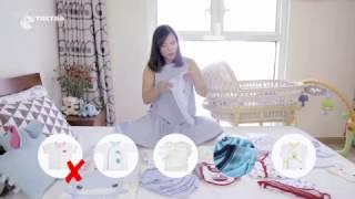Cách chọn quần áo cho bé sơ sinh