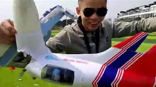 Những pha tai nạn máy bay mô hình của nhóm RC Hà Nội