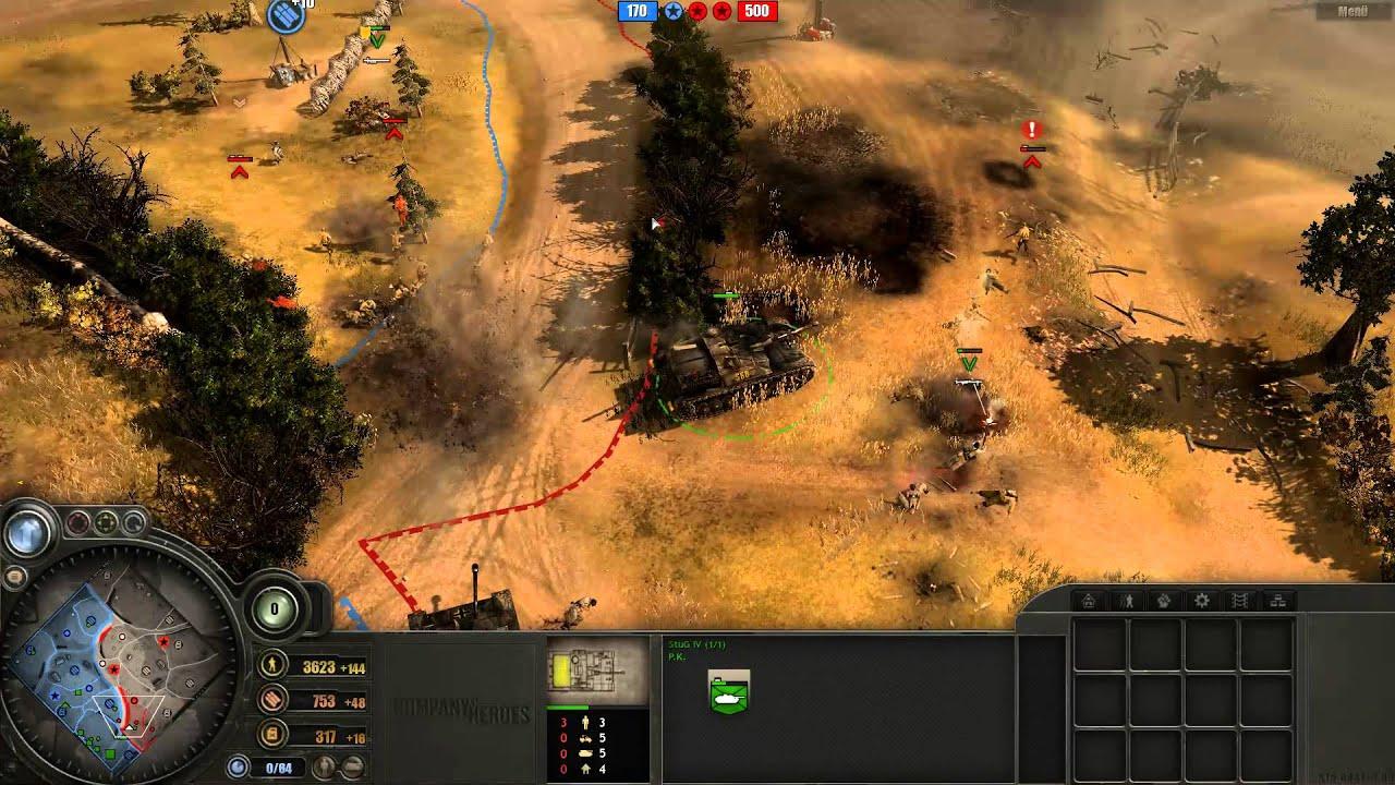 Company of Heroes 1 - Langres - Fanatic vs PK - YouTube