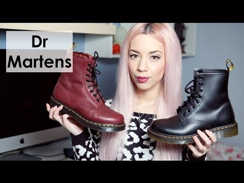 Dr Marten Serena Unboxing Comparison