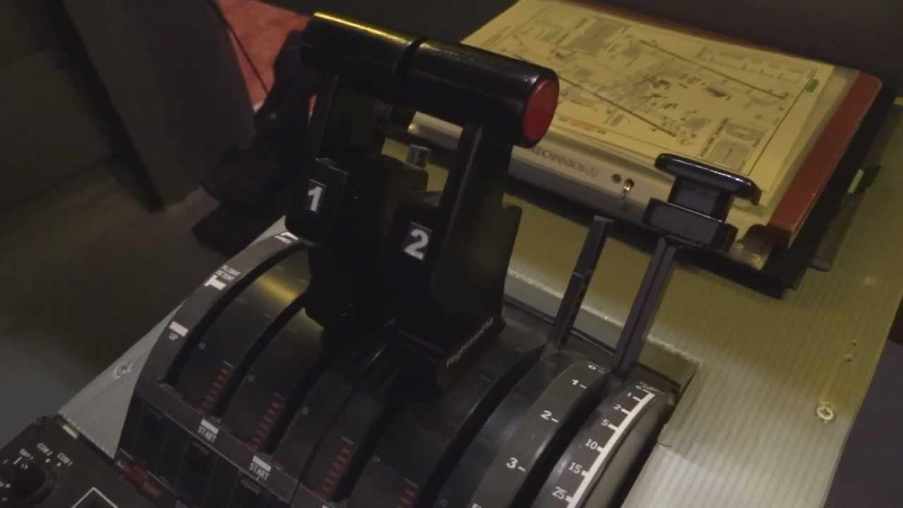 Saitek Custom Made Airbus levers - YouTube