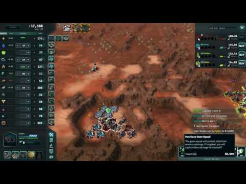 Offworld Trading Company: Ranked Multiplayer - How not to Power Robot