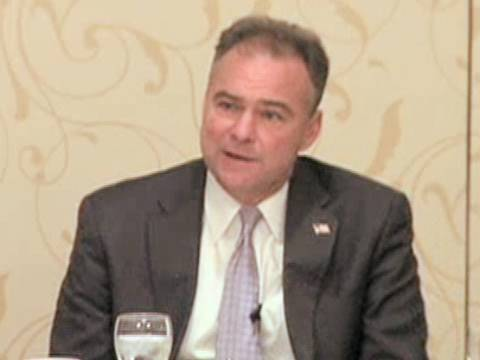 DNC Chair Kaine: Independent Crist Helps Dem Opponent in FL Senate Race