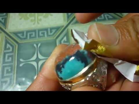 Cara mengkilapkan batu akik dengan kertas rokok ( How to polish with cigarette paper )