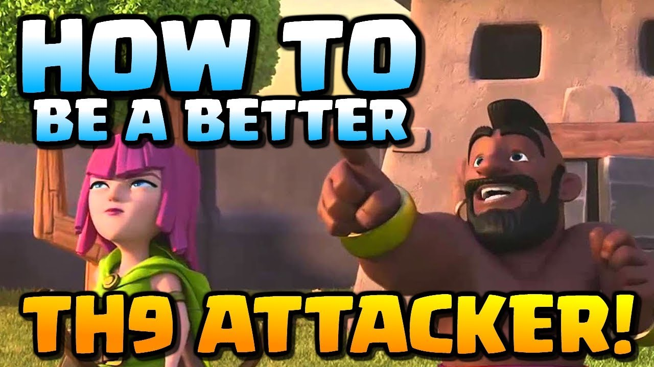 How to be a BETTER TH9 Attacker | Hog Rider Attack Strategy at Town Hall 9 | Clash of Clans