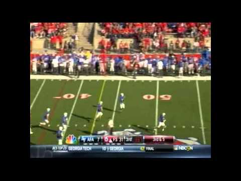 Fresno State Vs Air Force Highlights (2012)