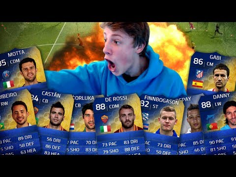 CRAZY TOTS PINKSLIPS!! - FIFA 14 LIVE