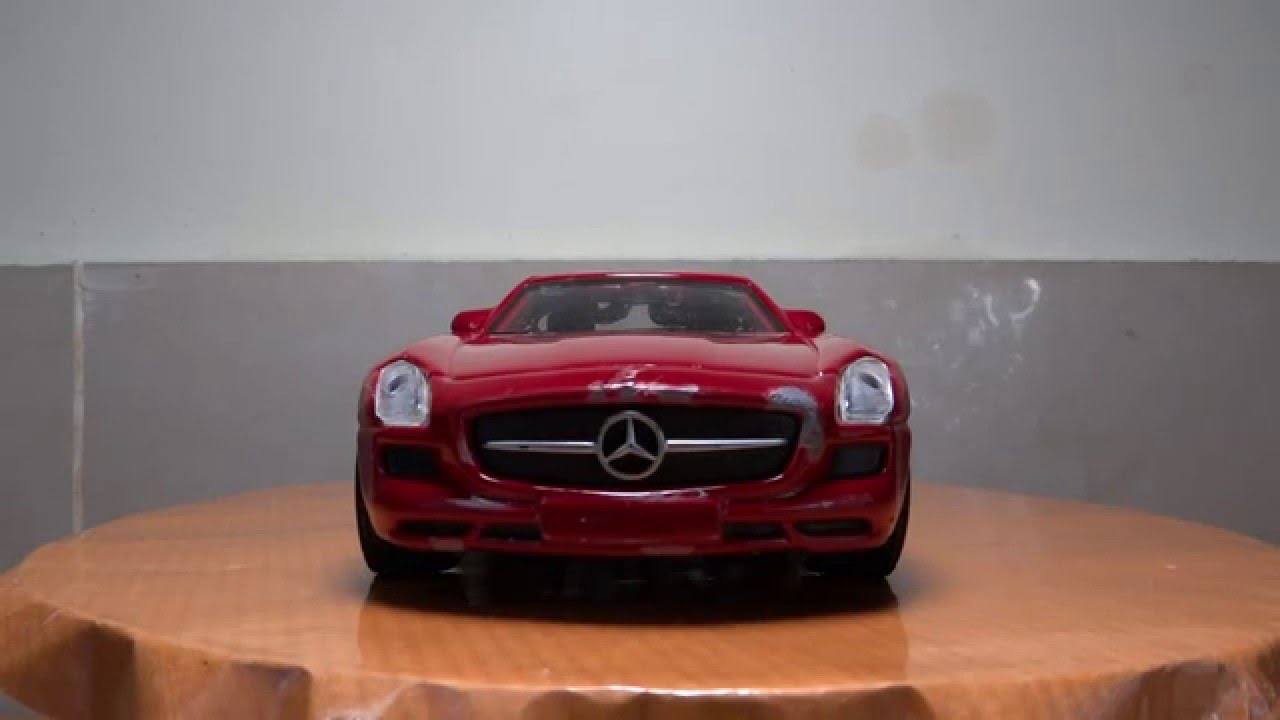 Mercedes Benz Red Color Toy Car Youtube