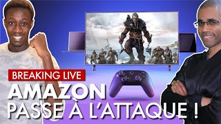 ? Breaking Live : AMAZON se lance dans le GAMING avec LUNA ? On en parle EN DIRECT !