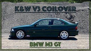 BMW E36 M3 GT - K&W Coilover Sistemi