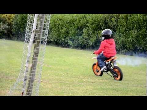 Kids on Mini Bikes - 50cc Dirt bike & Quad