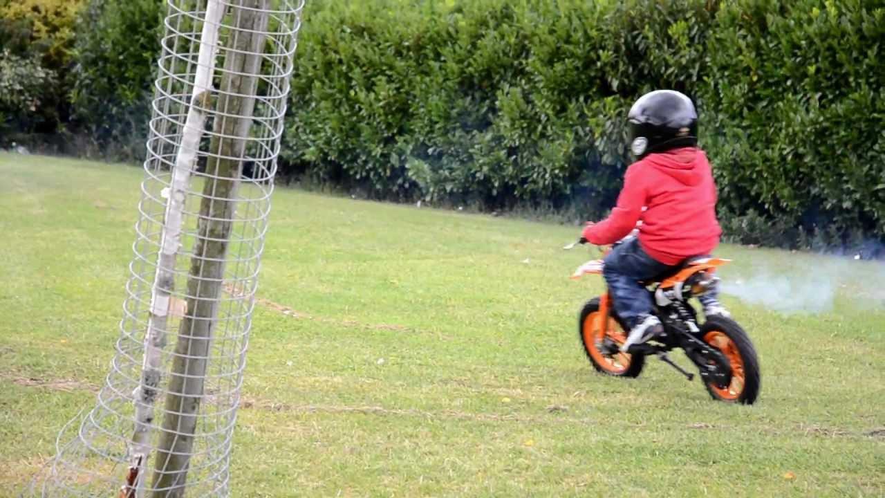 Kids On Mini Bikes 50cc Dirt Bike Quad Youtube