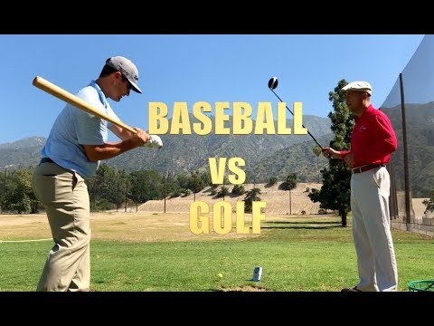 Baseball Swing Vs Golf Swing