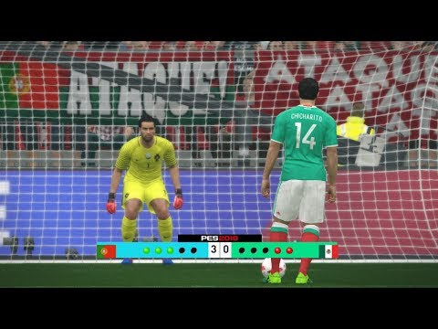 Portugal vs Mexico - Confederations Cup 2017 Penalty Shootout