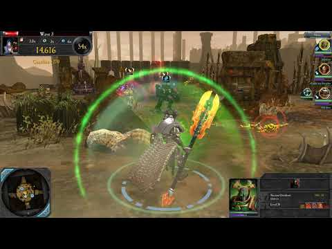 Necron Lord, Chaos Sorcerer, TAU Commander! - The Last Stand, Dawn Of War 2: Retribution