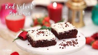 Red Velvet Brownies | Dessert
