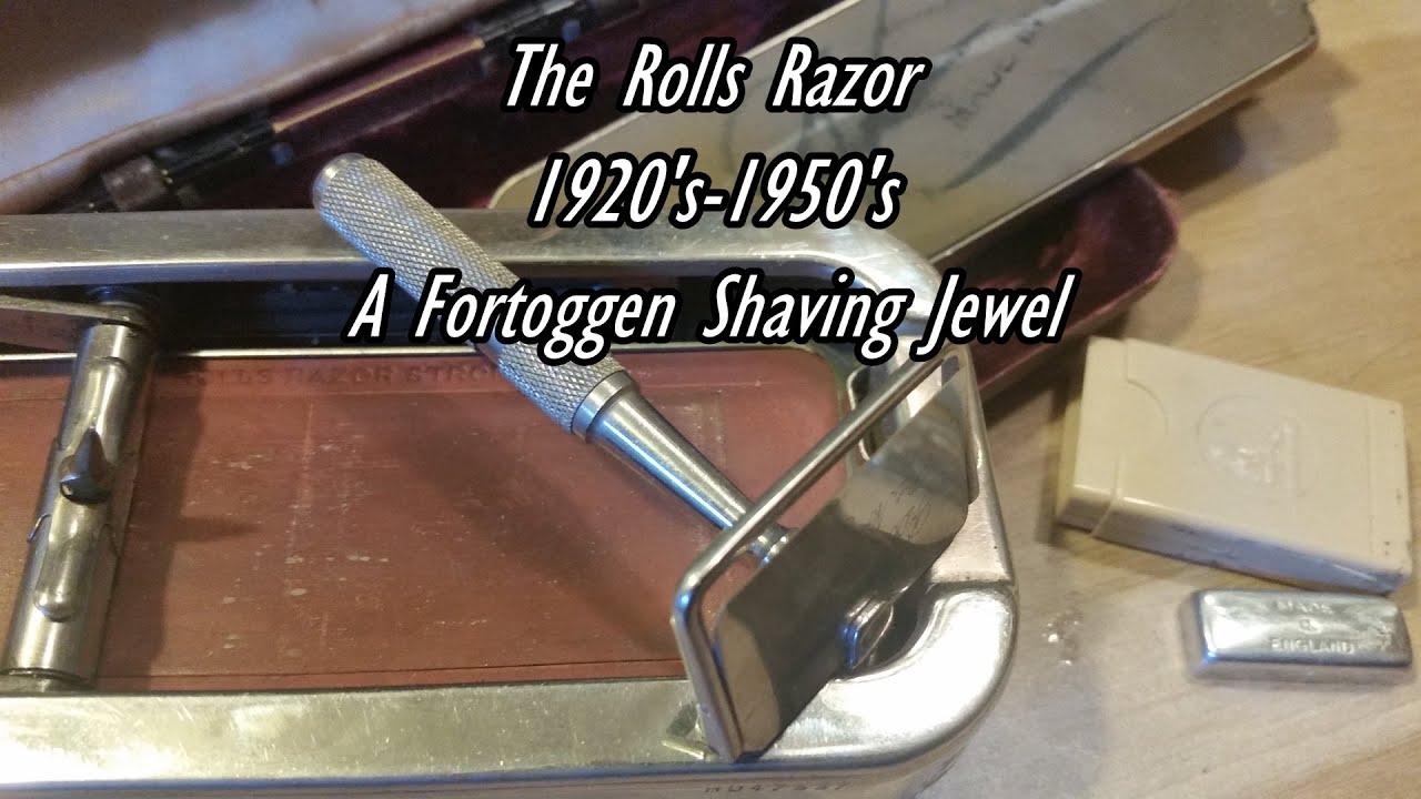 rolls razor history