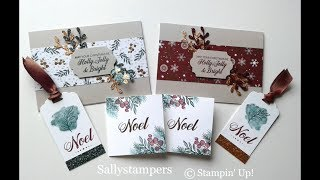 Christmas Cards Gift Set Cards and Tags