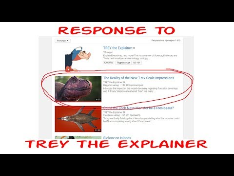 Did T.Rex Have Feathers - Response to Trey the Explainer