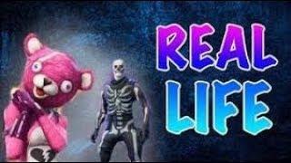 Fortnite in real life| DMonster_096