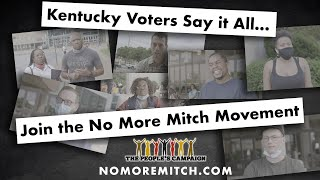 For KY Voters - Join the No More Mitch Movement