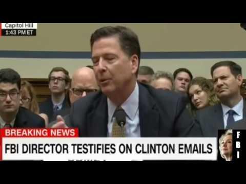 FBI chief may have broken law, says top Democrat