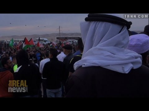 Thousands Protest Forced Urbanization of Israel's Bedouin