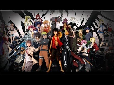Топ 10 персонажей аниме