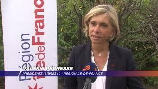 Valérie Pécresse souhaite le maintien de la production de véhicules Renault à Flins